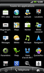 HTC A7272 Desire Z - Internet - configuration manuelle - Étape 3