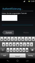 Sony Xperia T - Apps - Konto anlegen und einrichten - Schritt 11