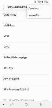 Samsung Galaxy S8 - Internet - Apn-Einstellungen - 17 / 38