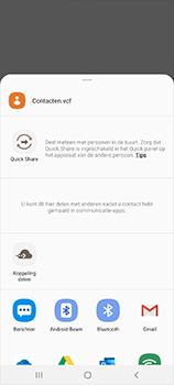Samsung Galaxy S20 Ultra 5G Dual SIM eSIM SM-G988B - Contacten en data - Contacten overzetten via Bluetooth - Stap 8