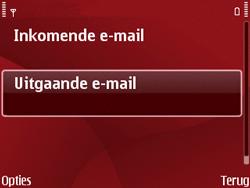 Nokia E63 - E-mail - Handmatig instellen - Stap 21