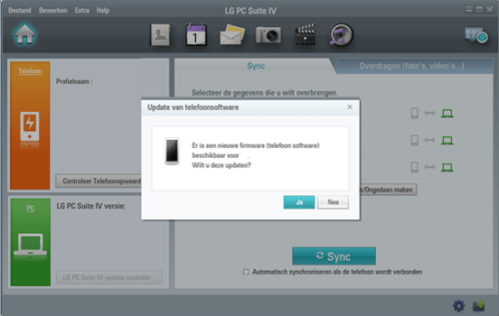 LG E460 Optimus L5 II - Software - Installeer firmware update - Stap 5