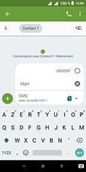 Alcatel 1 - Contact, Appels, SMS/MMS - Envoyer un MMS - Étape 10