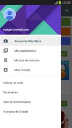 Samsung Galaxy S III LTE - Applications - Comment vérifier les mises à jour des applications - Étape 5