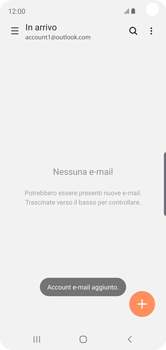 Samsung Galaxy S10e - E-mail - 032c. Email wizard - Outlook - Fase 13