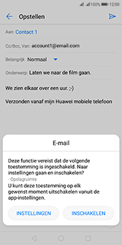 Huawei Mate 10 Pro Dual-SIM (Model BLA-L29) - E-mail - Bericht met attachment versturen - Stap 11