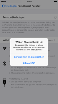 Apple iphone-7-plus-met-ios-10-model-a1784 - WiFi - Mobiele hotspot instellen - Stap 7