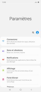 Samsung Galaxy Note 10 Lite - Internet et connexion - Désactiver la connexion Internet - Étape 4