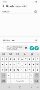 Samsung Galaxy S20 - Contact, Appels, SMS/MMS - Envoyer un MMS - Étape 13