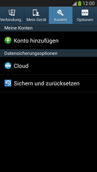Samsung Galaxy S 4 Active - Gerät - Zurücksetzen auf die Werkseinstellungen - Schritt 5