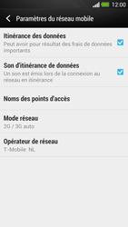 HTC One - Internet et roaming de données - Désactivation du roaming de données - Étape 5