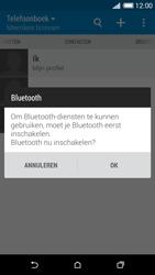HTC Desire 816 - Contactgegevens overzetten - delen via Bluetooth - Stap 10