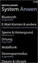 Nokia Lumia 800 - Internet - Manuelle Konfiguration - Schritt 4