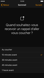 Apple iPhone 6s iOS 10 - iOS features - Coucher - Étape 8
