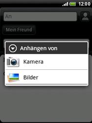 HTC A3333 Wildfire - E-Mail - E-Mail versenden - Schritt 13