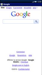 Sony Xperia X10 - Internet - Navigation sur Internet - Étape 4
