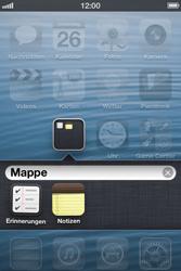 Apple iPhone 3GS - Startanleitung - Personalisieren der Startseite - Schritt 7