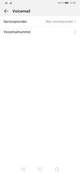 Huawei P30 - Voicemail - handmatig instellen - Stap 10