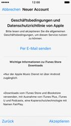 Apple iPhone SE - iOS 10 - Apps - Konto anlegen und einrichten - Schritt 10