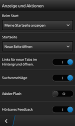 BlackBerry Z10 - Internet und Datenroaming - Manuelle Konfiguration - Schritt 17