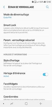 Samsung Galaxy A6 - Sécurité - activéz le code PIN de l'appareil - Étape 12