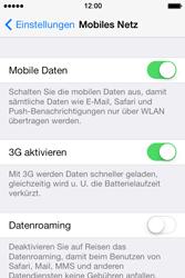 Apple iPhone 4 S mit iOS 7 - Netzwerk - Netzwerkeinstellungen ändern - Schritt 4