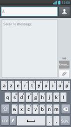 LG Optimus F6 - Contact, Appels, SMS/MMS - Envoyer un SMS - Étape 5
