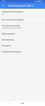 Sony Xperia 1 - Anrufe - Rufumleitungen setzen und löschen - Schritt 8