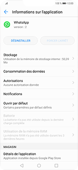 Huawei Mate 20 lite - Applications - Supprimer une application - Étape 6