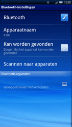 Sony Ericsson Xperia X10 - Bluetooth - headset, carkit verbinding - Stap 9