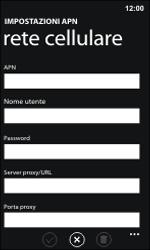 Nokia Lumia 800 / Lumia 900 - Internet e roaming dati - Configurazione manuale - Fase 9