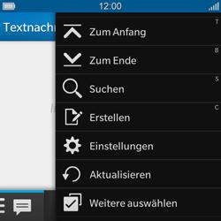 BlackBerry Q10 - MMS - Manuelle Konfiguration - Schritt 4