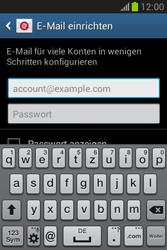 Samsung Galaxy Fame Lite - E-Mail - Manuelle Konfiguration - Schritt 5