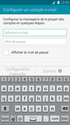 Samsung Galaxy S 5 - E-mail - configuration manuelle - Étape 5