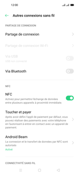 Oppo Reno 4 Pro - Internet et connexion - Partager votre connexion en Wi-Fi - Étape 5