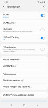 Samsung Galaxy S20 Ultra 5G - WiFi - WiFi Calling aktivieren - Schritt 6