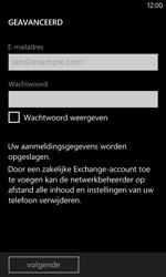 Nokia Lumia 520 - E-mail - Handmatig instellen - Stap 8