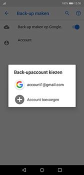 Huawei P20 - Android Pie - toestel resetten - back-up maken met jouw account - stap 12