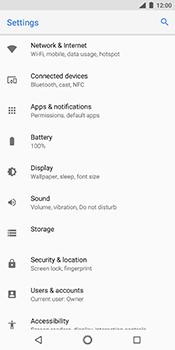 Nokia 7 Plus - Network - Change networkmode - Step 5