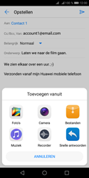 Huawei Y5 (2018) - E-mail - e-mail versturen - Stap 9
