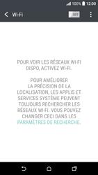 HTC Desire 530 - Internet et connexion - Accéder au réseau Wi-Fi - Étape 5