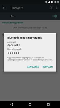 Motorola Nexus 6 - Bluetooth - Koppelen met ander apparaat - Stap 7