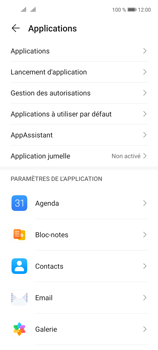 Huawei P40 Lite 5G - Applications - Supprimer une application - Étape 4
