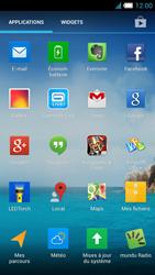 Alcatel One Touch Idol S - E-mail - Configuration manuelle - Étape 3