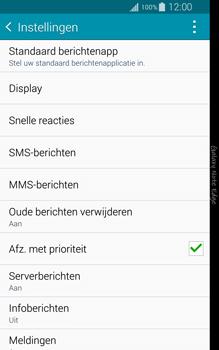 Samsung Galaxy Note Edge - sms - handmatig instellen - stap 6