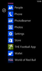 Nokia Lumia 925 - WiFi - WiFi configuration - Step 3