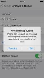 Apple iPhone 5 iOS 7 - Applicazioni - Configurazione del servizio Apple iCloud - Fase 11