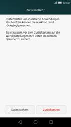 Huawei Ascend G7 - Fehlerbehebung - Handy zurücksetzen - Schritt 9