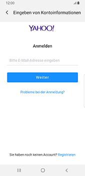 Samsung Galaxy S9 - Android Pie - E-Mail - 032b. Email wizard - Yahoo - Schritt 7