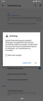 Sony Xperia 5 - Internet und Datenroaming - Prüfen, ob Datenkonnektivität aktiviert ist - Schritt 7